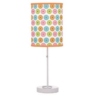 colorful pastel buttons desk lamp