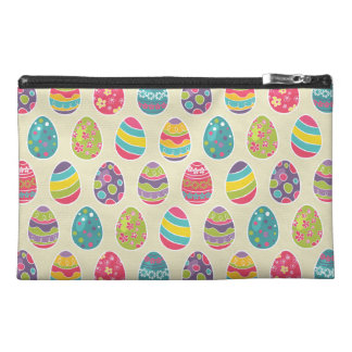Colorful Pastel Easter Eggs Cute Pattern Travel Accessory Bags