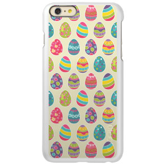 Colorful Pastel Easter Eggs Cute Pattern Incipio Feather® Shine iPhone 6 Plus Case