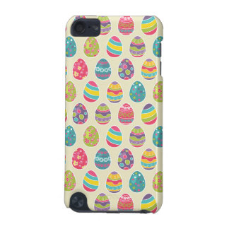 Colorful Pastel Easter Eggs Cute Pattern iPod Touch 5G Cover