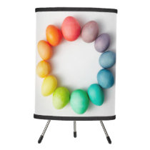 COLORFUL PASTEL EGGS TABLE TOP LAMP