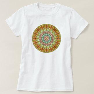 Colorful Pastel Jellybean Easter Candy Mandala T-Shirt