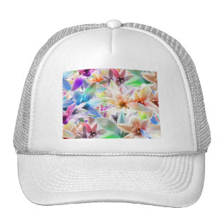 Colorful Pastel Orchids Trucker Hat