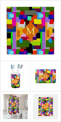 Colorful Patchwork Abstract Collection