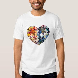 Colorful Patchwork Quilt Heart Dresses