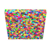 colorful pattern canvas