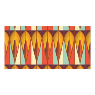 Colorful pattern card