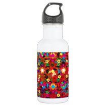 """Colorful Pattern Creation """"Acanthus"""" Water Bottle"""