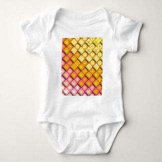 "Colorful Pattern Creation ""Athena"" Baby Bodysuit"