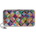 """Colorful Pattern Creation """"Athena"""" Portable Speakers"""
