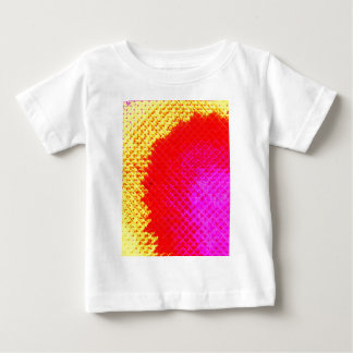 """Colorful Pattern Creation """"Burning Desire"""" Baby T-Shirt"""