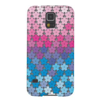 """Colorful Pattern Creation """"Cherry Blossoms"""" Case For Galaxy S5"""