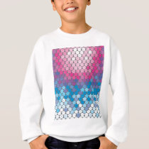 "Colorful Pattern Creation ""Cherry Blossoms"" Sweatshirt"