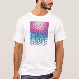 """Colorful Pattern Creation """"Cherry Blossoms"""" T-Shirt"""