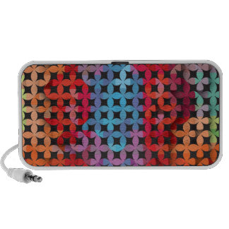 Colorful Pattern Creation Fire Mp3 Speaker
