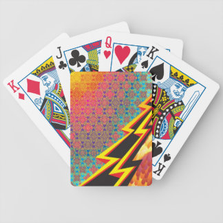 "Colorful Pattern Creation ""Flash Gordon"" Bicycle Playing Cards"