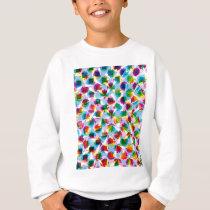 "Colorful Pattern Creation ""Fortuna"" Sweatshirt"