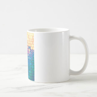 "Colorful Pattern Creation ""Gaia"" Coffee Mug"