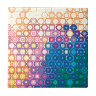 """Colorful Pattern Creation """"Gaia"""" Tiles"""