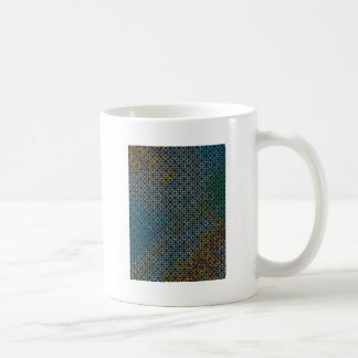 """Colorful Pattern Creation """"Love at First Night"""" Classic White Coffee Mug"""
