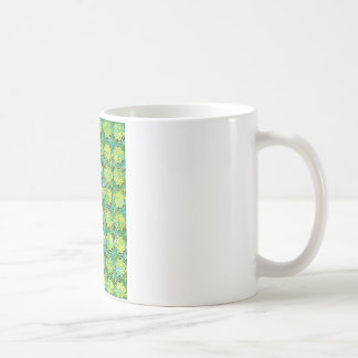 """Colorful Pattern Creation """"Lucky You"""" Classic White Coffee Mug"""