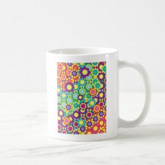 "Colorful Pattern Creation ""My Lisboa"" Classic White Coffee Mug"