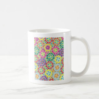 "Colorful Pattern Creation ""My Los Angeles"" Classic White Coffee Mug"