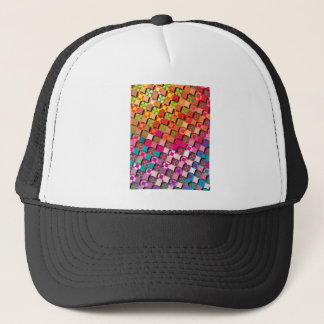 """Colorful Pattern Creation """"My Milano"""" Trucker Hat"""