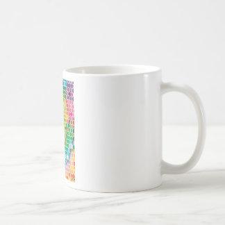 "Colorful Pattern Creation ""My New York"" Classic White Coffee Mug"