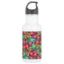 """Colorful Pattern Creation """"My St. Petersburg"""" Stainless Steel Water Bottle"""