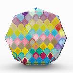 "Colorful Pattern Creation ""Oriental"" Acrylic Award"