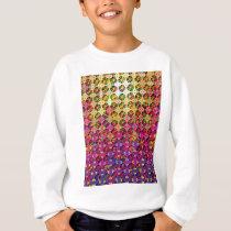 "Colorful Pattern Creation ""Perseus"" Sweatshirt"