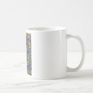 "Colorful Pattern Creation ""Rose Garden"" Classic White Coffee Mug"
