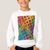 "Colorful Pattern Creation ""Sinbad's Treasure"" Sweatshirt"
