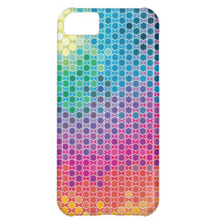 """Colorful Pattern Creation """"Starlight"""" iPhone 5C Case"""