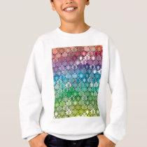 "Colorful Pattern Creation ""Tropicana"" Sweatshirt"