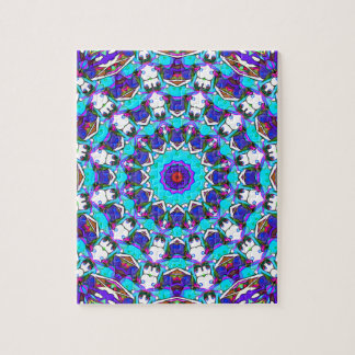Colorful Pattern Design Jigsaw Puzzle