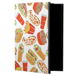 Colorful Pattern Illustration Fast Food Powis iPad Air 2 Case