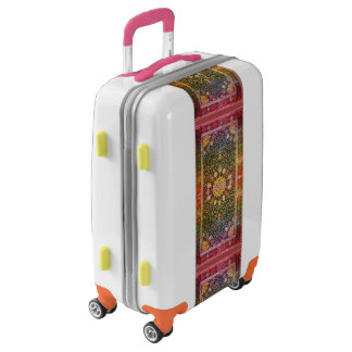 Colorful Pattern Luggage