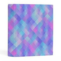 Colorful Pattern Mini Binder