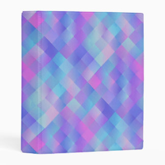 Colorful Pattern Mini Binder