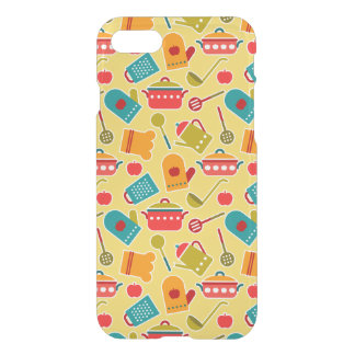 Colorful pattern of kitchen utensils iPhone 8/7 case