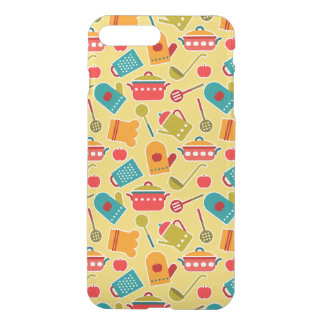 Colorful pattern of kitchen utensils iPhone 8 plus/7 plus case