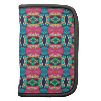 Colorful Pattern of Symmetry Folio Planners