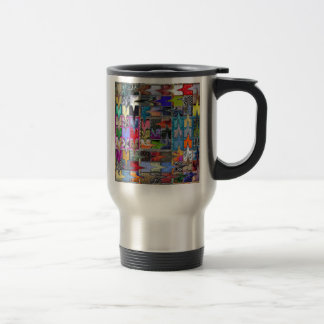 Colorful Pattern on Coffee Mug (both sides)