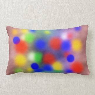 Colorful pattern pillow
