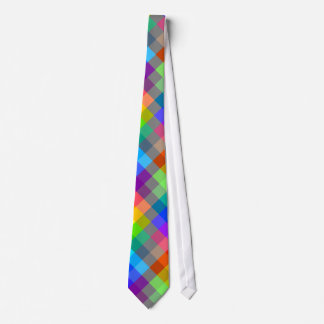 Colorful pattern. Rainbow Colors. Neck Tie