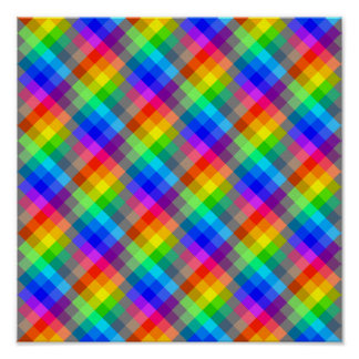Colorful pattern. Rainbow Colors. Poster