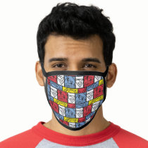 Colorful Pattern Shields Face Mask