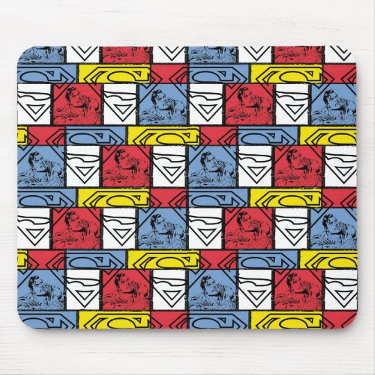 Colorful Pattern Shields Mouse Pad